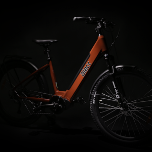Black ATB electric bike