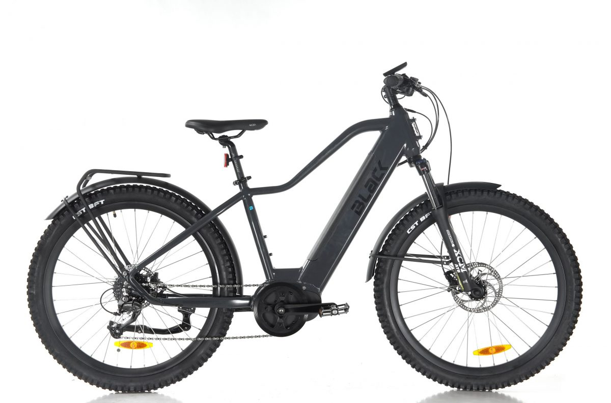 Black ATB-H electric bike